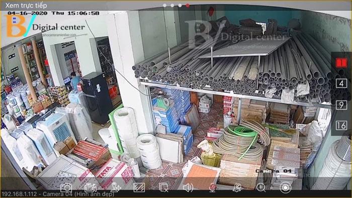Lắp camera quan sát cửa hàng tại Hải Dương
