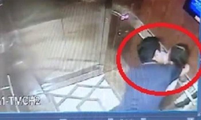 lắp đặt camera trong thang máy