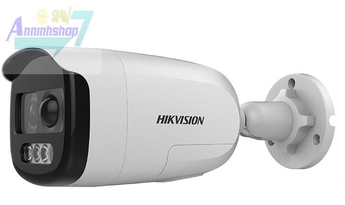 camera hikvision DS-2CE12DFT-PIRXOF tích hợp đèn và còi báo động