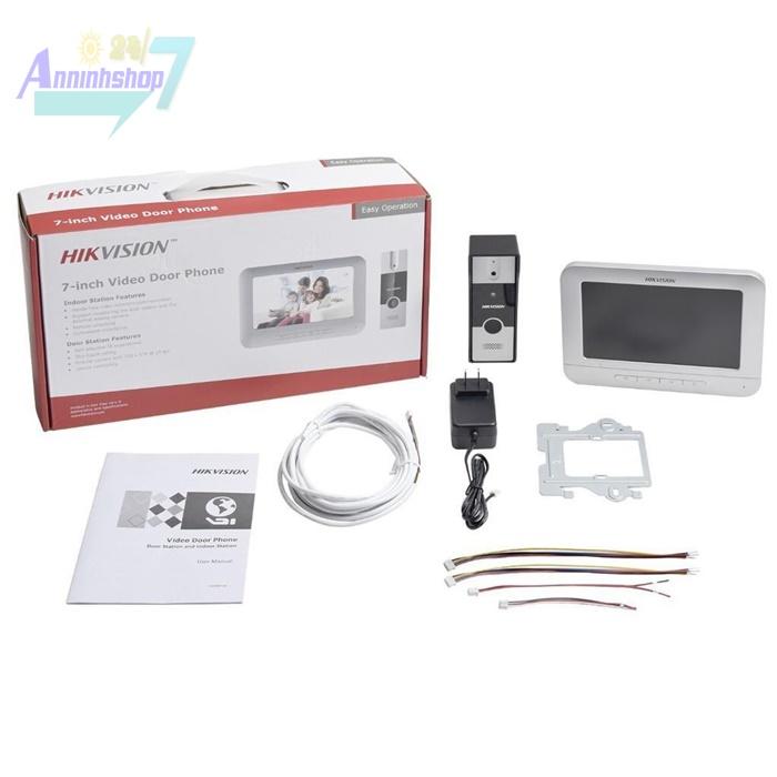 Lắp chuông cửa màn hình hikvision DS-KIS202 giá rẻ tại Hà Nội