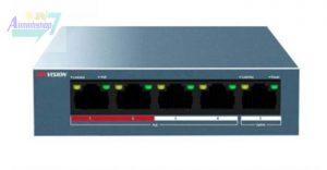 SWitch 5 cổng hikvision DS-3E0105P-E/M(B)