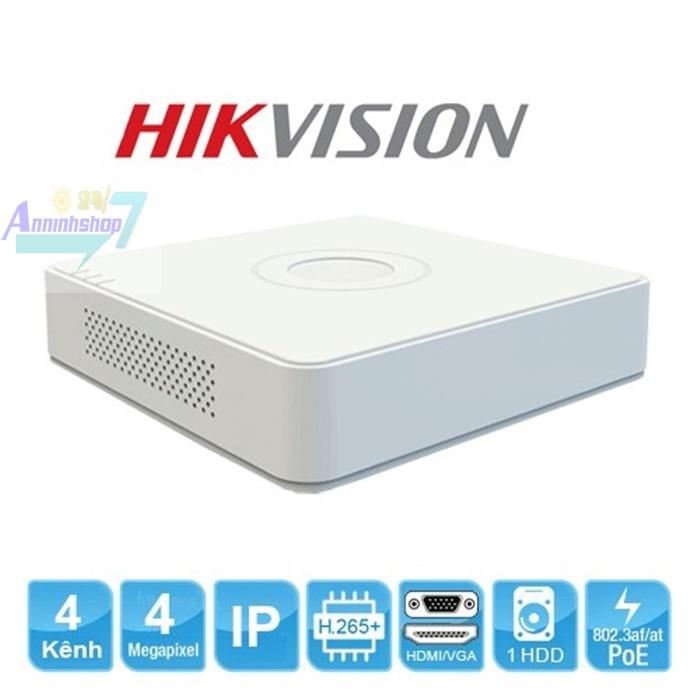 Đầu thu 4 kênh NVR hikvision DS-7104NI-Q1