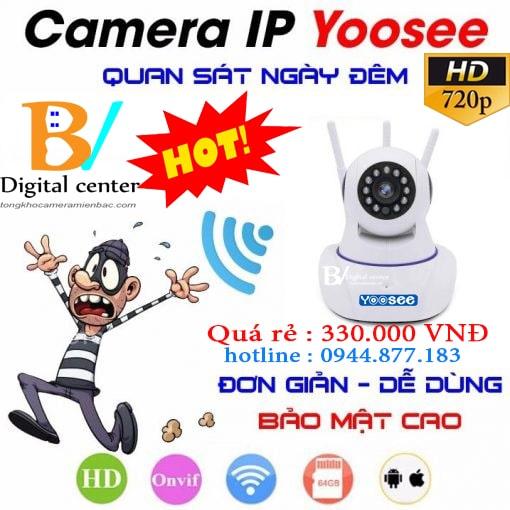 camera wifi yoosee giá rẻ phù hợp mọi gia đình