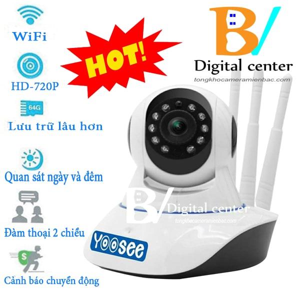 Camera wifi yoosee 3 râu giá rẻ