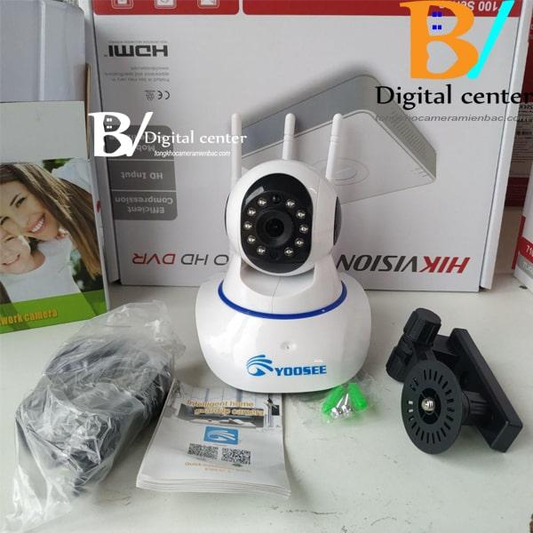 phu kiện kèm theo mua camera wifi yoosee 3 râu