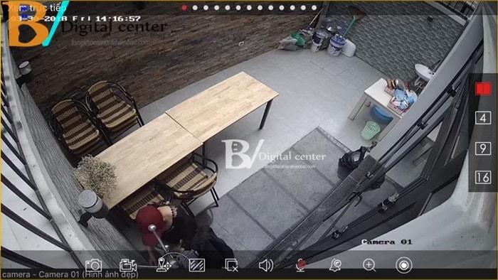 Hình ảnh Trung tâm Bảo Vy đã lắp trọn bộ 1 chiếc camera hikvision HD