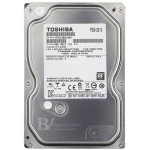 Ổ cứng Toshiba AV 4TB chuyên dụng cho đầu ghi hình camera