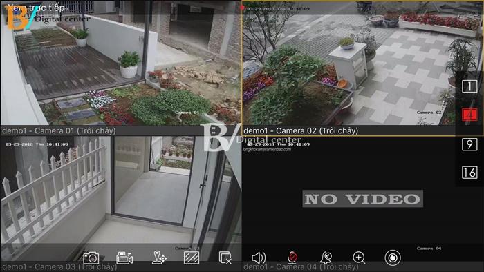hình ảnh trọn bộ 3 camera hikvision full hd lắp cho gia đình