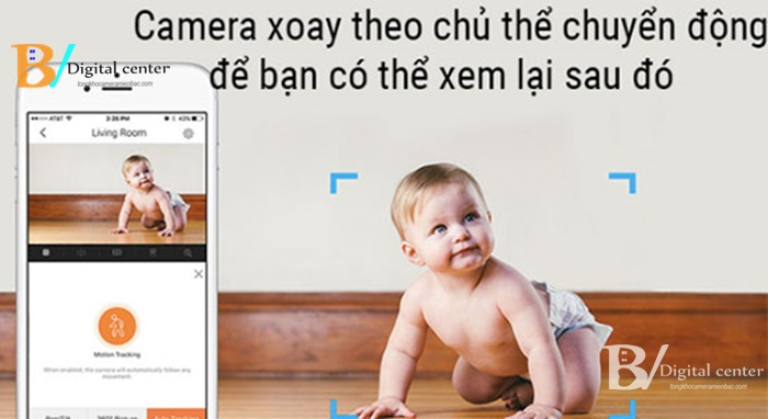 camera wifi giám sát trẻ em