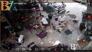 Lắp đặt camera quan sát tại Tứ Kỳ Hải Dương quán caffe