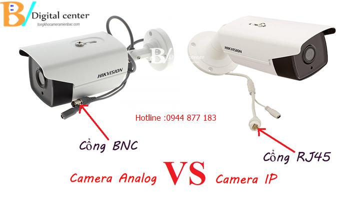 camera ip và camera analog hd