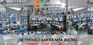 Lắp đặt camera quan sát khu công nghiệp Tân Trường Hải Dương