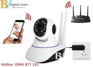 Hướng dẫn tự lắp đặt camera wifi tại nhà