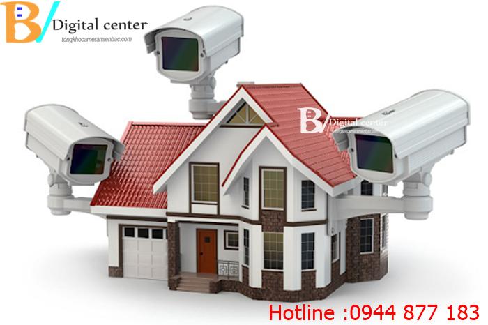 Lắp đặt camera quan sát tại Kiến An Hải Phòng